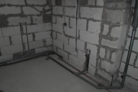 Водопровод медными трубами